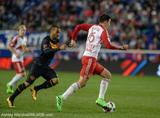 MLS: New York Red Bulls vs. Houston Dynamo Sacha Kljestan
