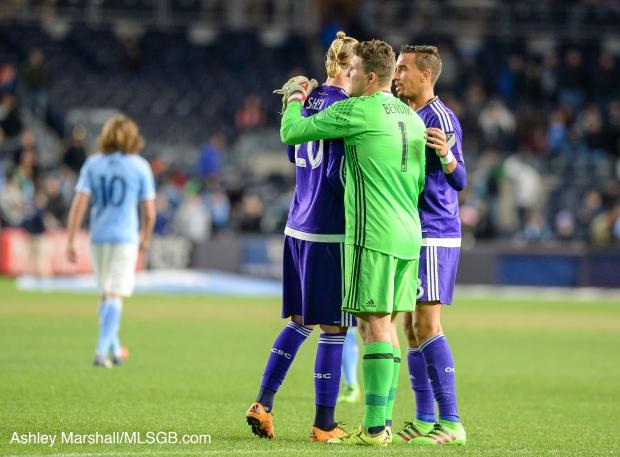 MLS: NYCFC vs. Orlando Joe Bendik