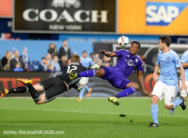 MLS: NYCFC vs. Orlando Saunders Larin