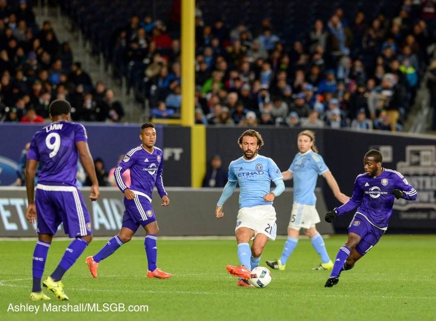 MLS: NYCFC vs. Orlando Andrea Pirlo