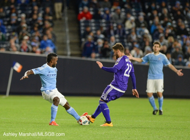 MLS: NYCFC vs. Orlando Antonio Nocerino