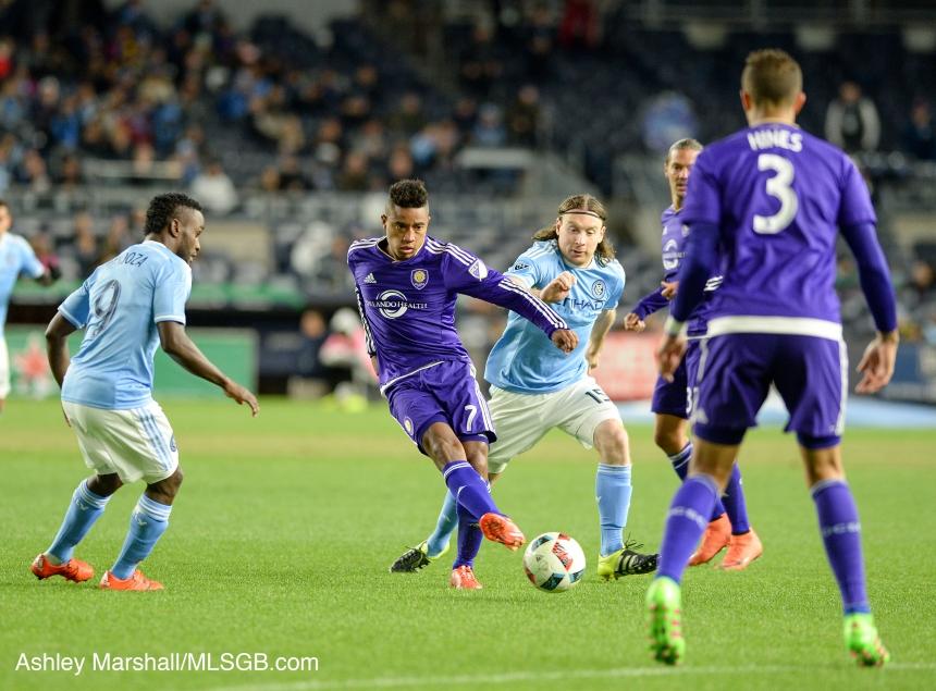 MLS: NYCFC vs. Orlando Cristian Higuita