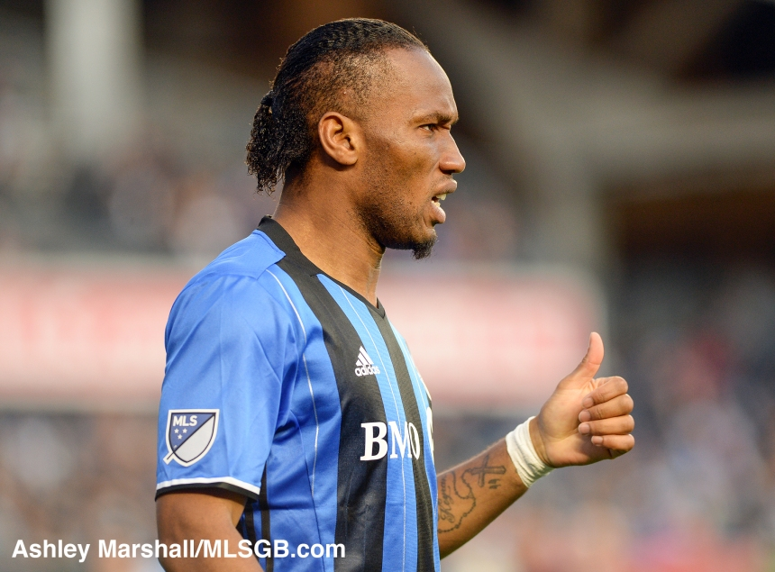 MLS: New York City FC vs. Montreal Impact Didier Drogba
