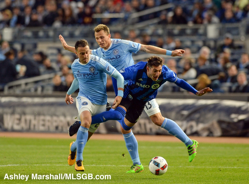 MLS: New York City FC vs. Montreal Impact Piatti