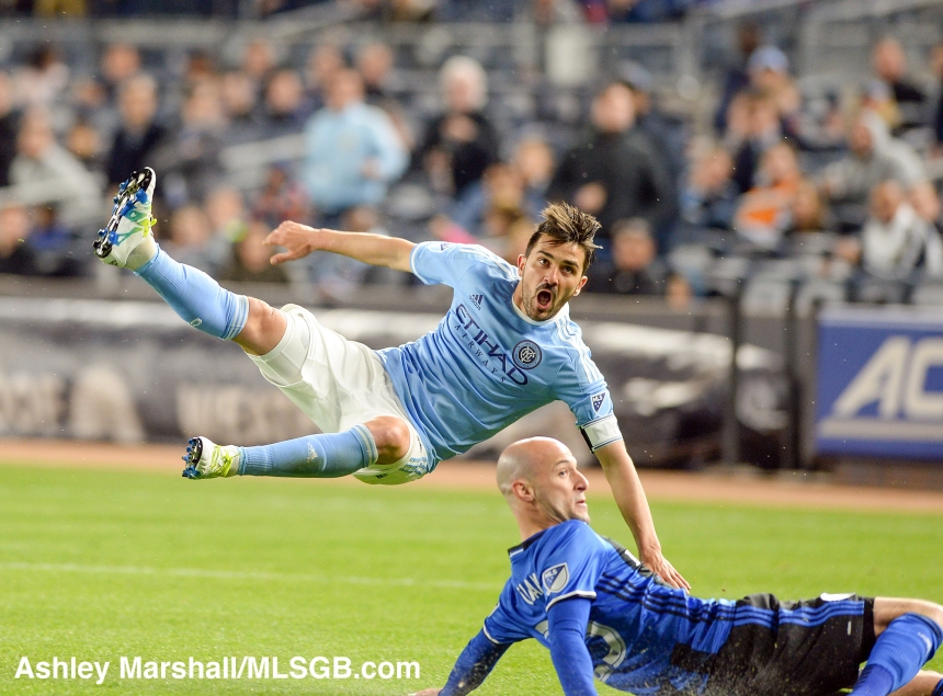 MLS: New York City FC vs. Montreal Impact David Villa
