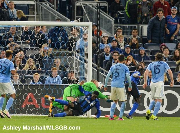 MLS: New York City FC vs. Montreal Impact Oduro