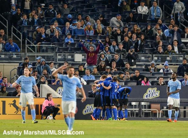 MLS: New York City FC vs. Montreal Impact