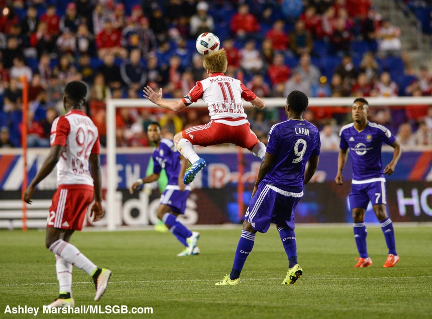 New York Red Bulls vs Orlando City Dax McCarty