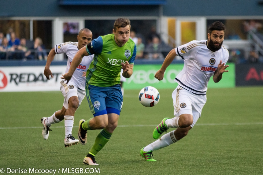 Seattle Sounders vs Philadelphia Union Jordan Morris