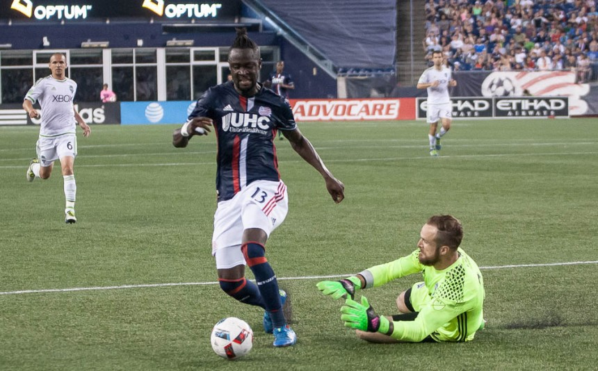 New England Revolution vs Seattle Sounders