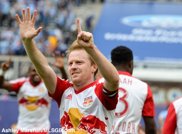 New York City FC vs New York Red Bulls Dax McCarty