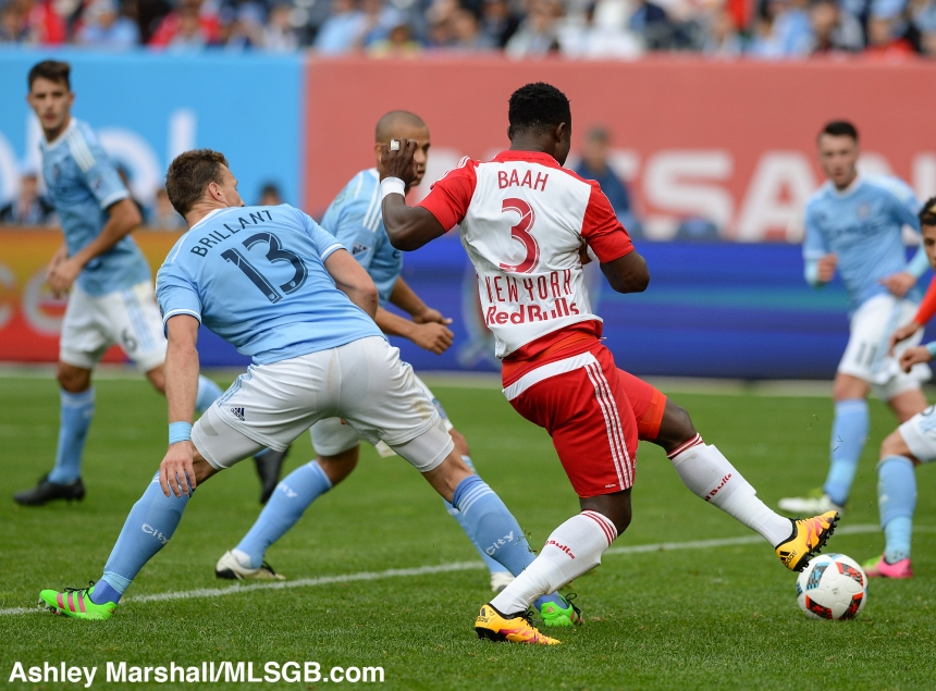 New York City FC vs New York Red Bulls Baah