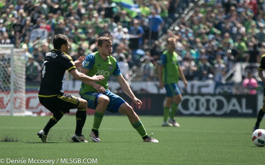 Seattle Sounders vs Columbus Crew Jordan Morris