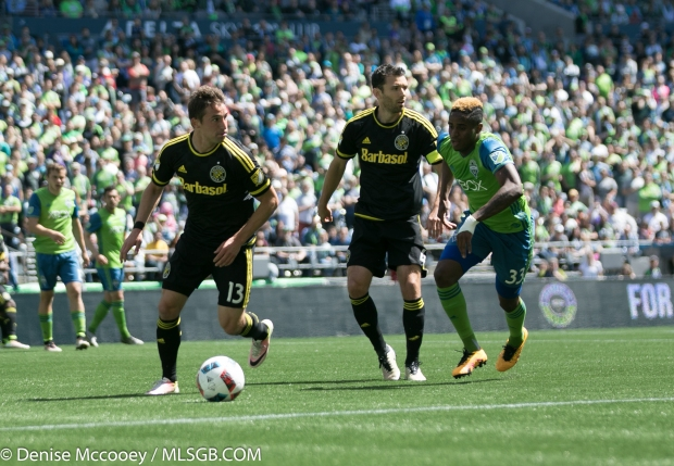 Seattle Sounders vs Columbus Crew