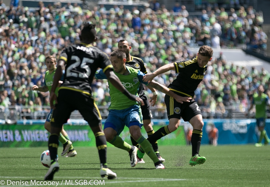 Seattle Sounders vs Columbus Crew Dempsey