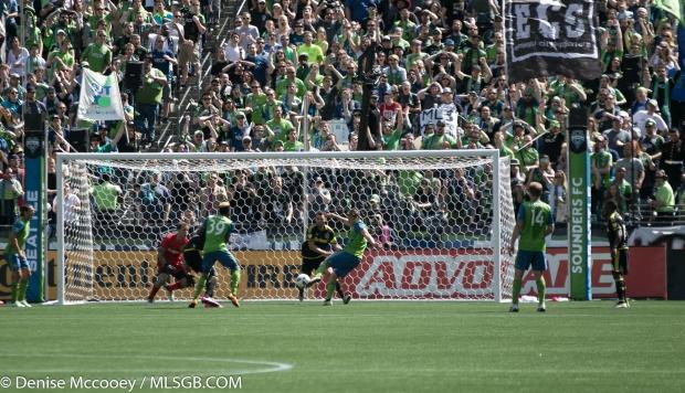 Seattle Sounders vs Columbus Crew Jordan Morris