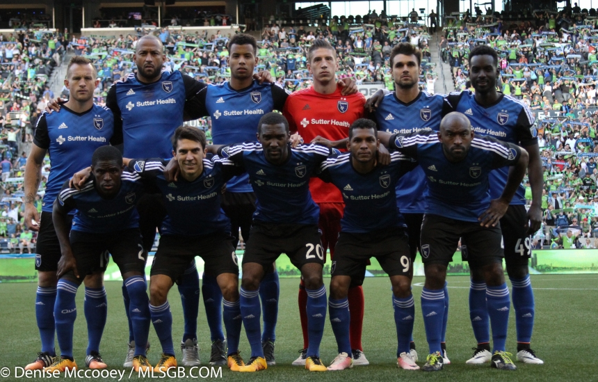 Seattle Sounders vs San Jose Earthquakes