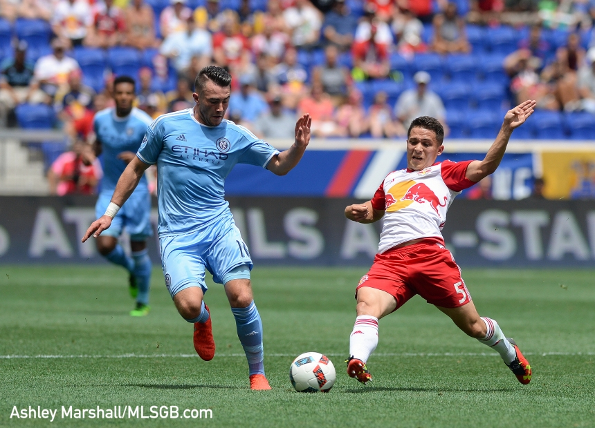 MLS: New York Red Bulls vs. New York City FC - Jack Harrison