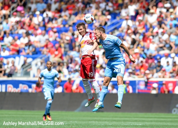 MLS: New York Red Bulls vs. New York City FC - Muyl