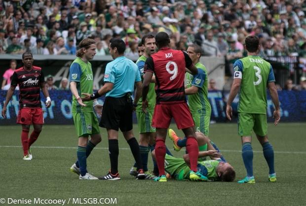 Portland Timbers vs Seattle Sounders