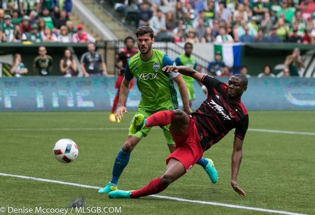 Portland Timbers vs Seattle Sounders - Adi Brad Evans