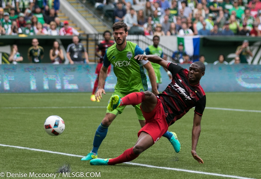 Portland Timbers vs Seattle Sounders - Adi Brad Evans