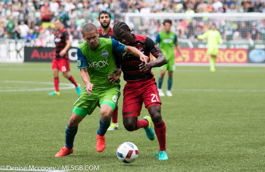Portland Timbers vs Seattle Sounders - Alonso Chara