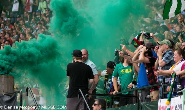 Portland Timbers Fans