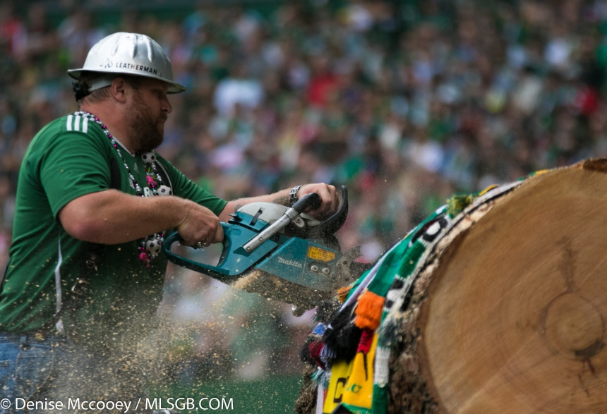Portland Timbers Chainsaw Wood