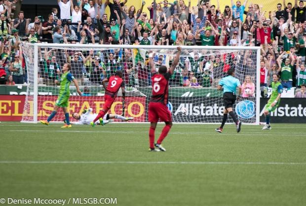 Portland Timbers vs Seattle Sounders - Adi Goal