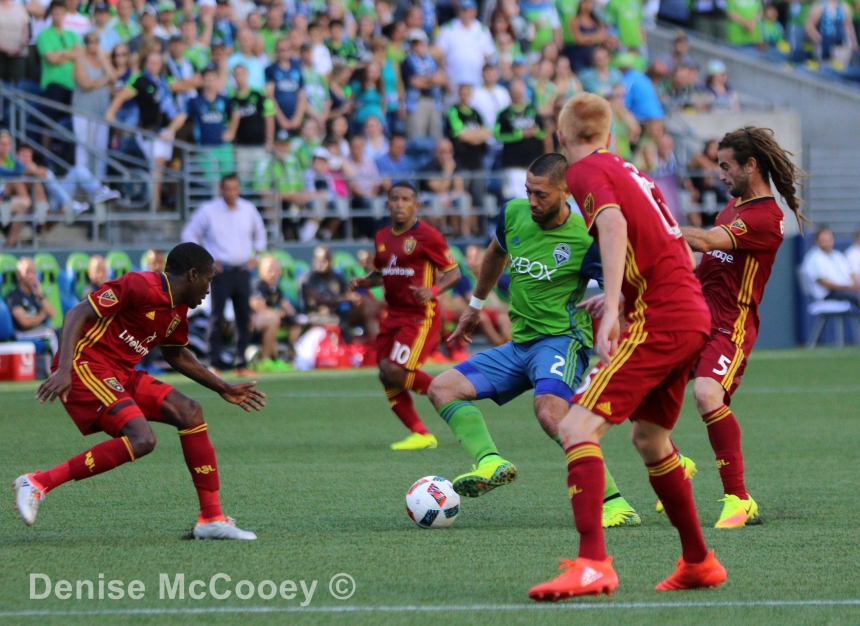 Seattle Sounders vs Real Salt Lake - Clint Dempsey