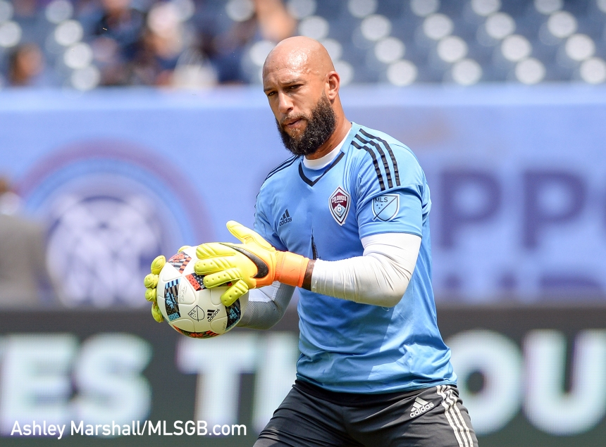 Tim Howard, MLS: New York City FC vs. Colorado Rapids