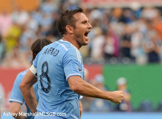 Frank Lampard, MLS: New York City FC vs. Colorado Rapids