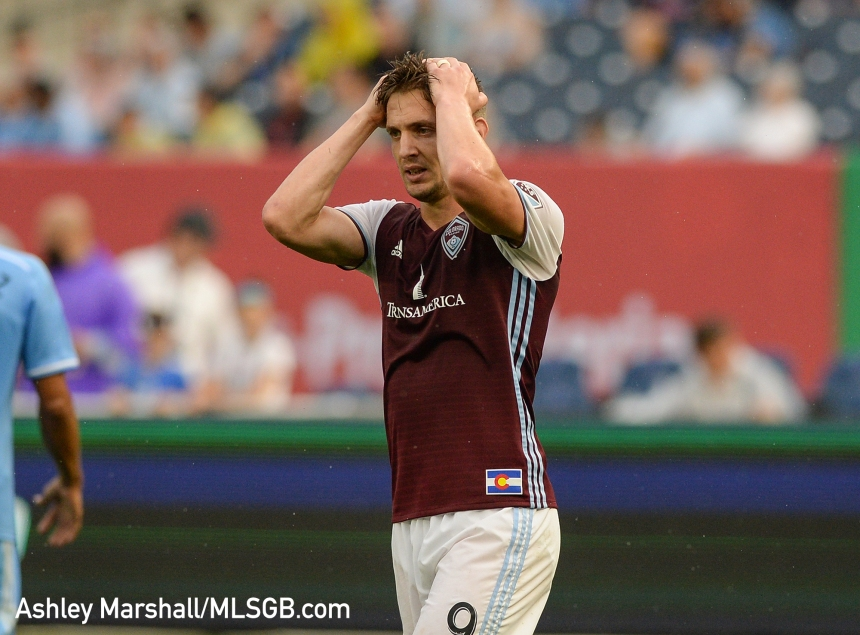Kevin Doyle, MLS: New York City FC vs. Colorado Rapids