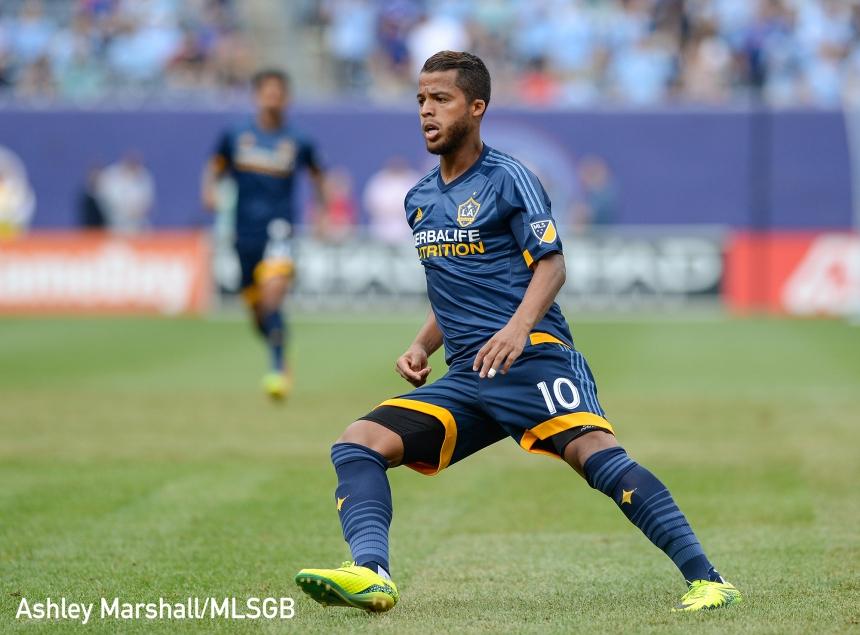 Giovani dos Santos, MLS: NYCFC vs. LA Galaxy
