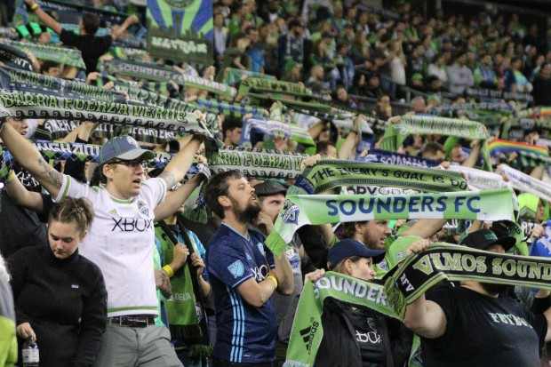Seattle Sounders Fans Scarves