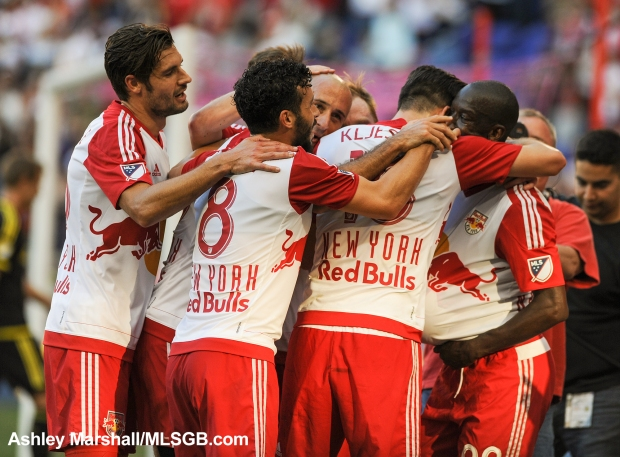 MLS: New York Red Bulls vs. Columbus Crew - Red Bulls Celebrate