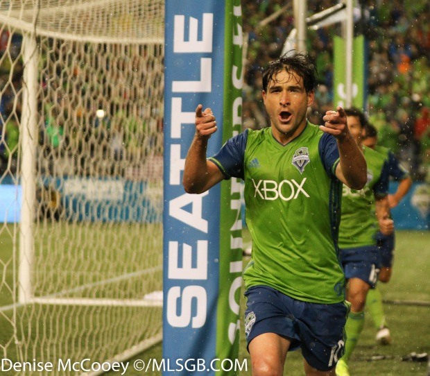 Seattle Sounders vs Colorado Rapids - Nicolas Lodeiro