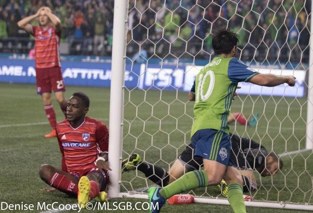 Seattle Sounders vs FC Dallas - Nicolas Lodeiro