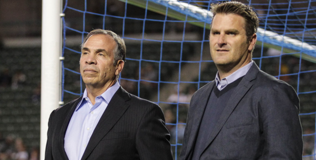 Bruce Arena and Curt Onalfo LA Galaxy