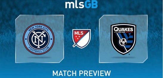 New York City FC vs San Jose Earthquakes Prediction